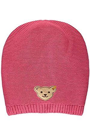 Steiff Mädchen mit süßer Teddybärapplikation Mütze