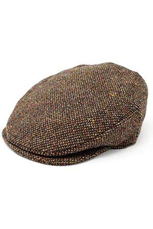 Hanna Hats Vintage Wolle Tweed Irische Flache Kappe - -L