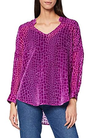 French Connection Damen PF Ilka Devore POP Over Shirt Bluse