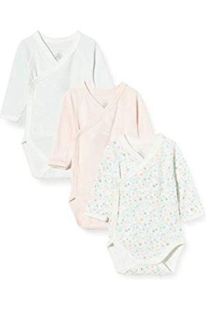 Petit Bateau Petit Bateau Unisex Baby 5690599 Kleinkind-Unterwäscheset, Pink Weiß/Multico Weiß/Grün