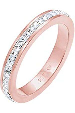Elli Elli PREMIUM Ring Bandring Geo Shape Swarovski Kristalle in 925 Sterling Silber