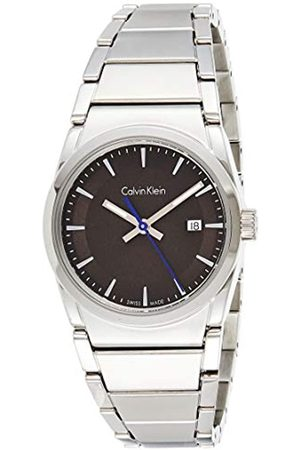 Calvin Klein Herren Analog Quarz Uhr mit Edelstahl Armband K6K33143