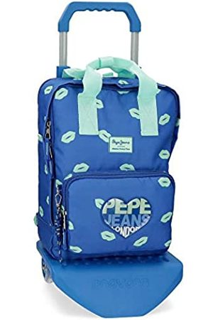 """Pepe Jeans Pepe Jeans Ruth Laptop-Rucksack mit Trolley 30x40x13 cms Polyester 14"""" 15.6L"""