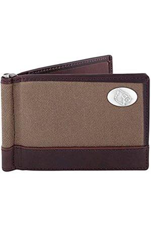 ZEP-PRO NCAA Louisville Cardinals Canvas Leather Concho Razor Wallet