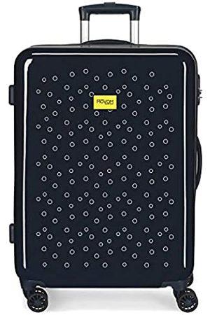 MOVOM Movom Bubbles Mittlerer Koffer 48x68x26 cms Hartschalen ABS Kombinationsschloss 70L 3