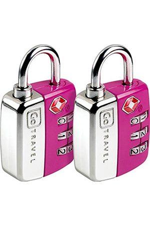 Design go Design Go Twin Travel Sentry Lock Purple