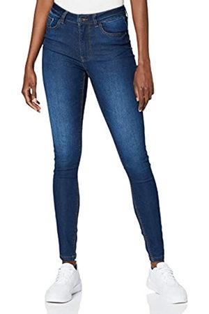 JDY Damen NEWNIKKI Life HIGH SKN MD BL DNM NOOS Jeans, Medium Blue Denim