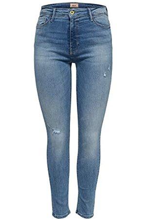 ONLY Female Skinny Fit Jeans ONLBlush Knöchel- S34Light Blue Denim