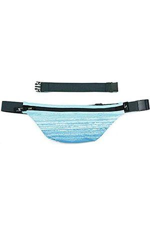 Sprigs Fit Belt 1 Pocket Slim Fanny Pack für Damen & Herren, eine schweißresistente Hüfttasche, die versteckt werden kann gürtel und Bauchtasche für Fitness, Reisen