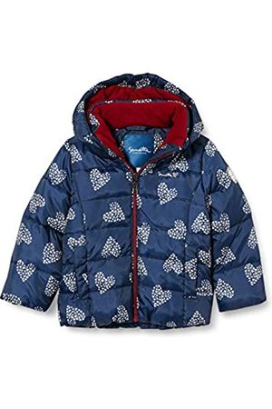 Sanetta Sanetta Mädchen Outdoor Jacke Nordic Blue Winterjacke Kidswear in Dunkelblau mit Abnehmbarer Kapuze