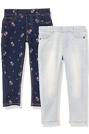 Amazon Amazon Essentials 2-Pack Girls Super-Stretch Woven Jeggings Jeans