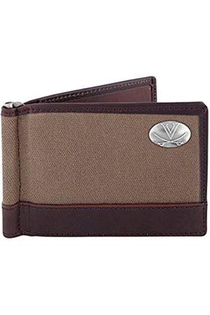 ZEP-PRO NCAA Virginia Cavaliers Canvas Leather Concho Razor Wallet