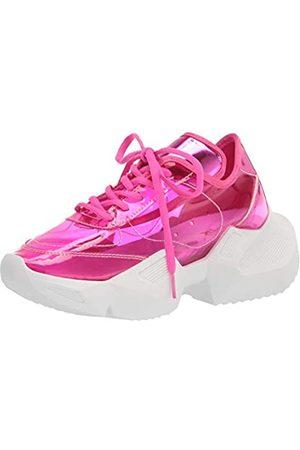 Yoki Damen Comfort Laufschuh, Pink (Fuchsia)