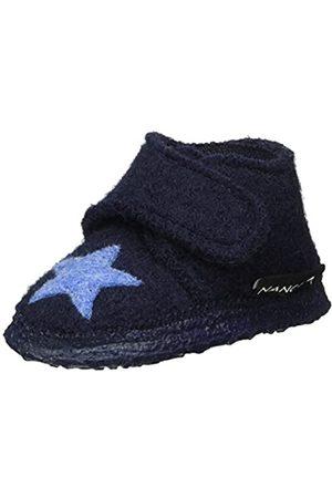 Nanga Nanga Baby Wollfilz Baby-Hausschuhe Stern 25