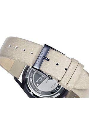 Viceroy Herren Uhren - HerrenAnalogQuarzUhrmitLederArmband471105-17