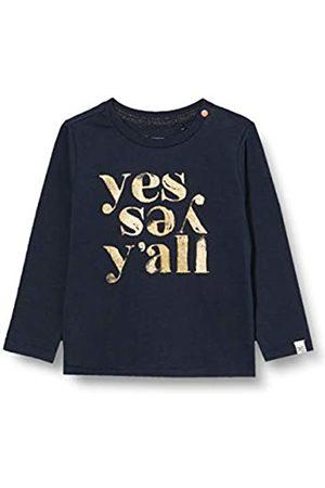 Noppies Noppies Mädchen G Tee ls Masilo T-Shirt, Dark Sapphire-P208