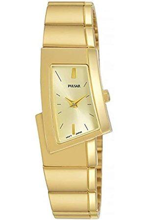 Pulsar Pulsar Quarz Damen-Uhr Edelstahl mit Metallband PJ5424X1