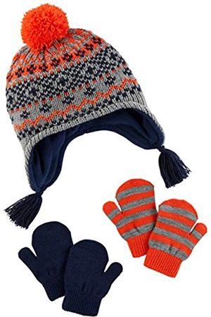 Simple Joys by Carter's Hat Hat and Mitten Set Cold Weather Hat Hat, Fairaisle