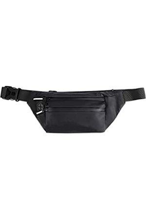 Gebaozhen Hüfttasche, wasserdichte Reisetasche, Hüfttasche, Hüfttasche mit Phosphorstreifen, reflektierend, langlebig, Gürteltasche, Lauftasche, perfekt zum Wandern, Radfahren, Laufen
