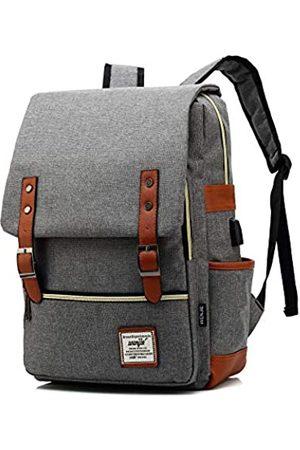 LIZAIDA MENENDEZ Vintage-Rucksack für Teenager, Mädchen, Jungen, Unisex-Laptoptasche für Damen und Herren, Schule, College, Büchertasche