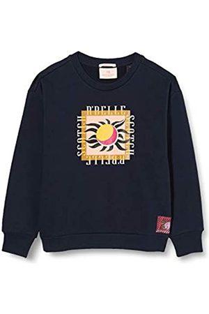 Scotch&Soda Scotch & Soda R´Belle Girls Sweatshirt aus Bio-Baumwolle mit Artwork-Print Sweater