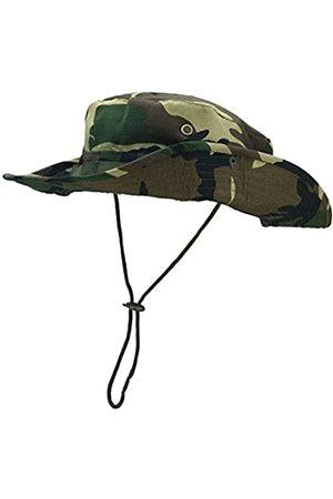 FALETO Outdoor Hut mit breiter Krempe, atmungsaktiv, Safari-Angelhut, UV-Schutz