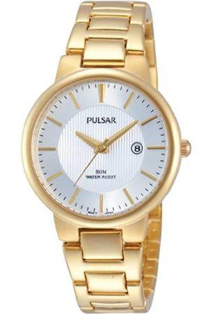 Pulsar Pulsar Damen-Armbanduhr XS Modern Analog Quarz Edelstahl beschichtet PH7344X1