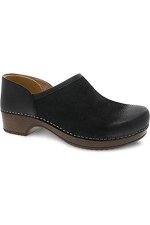 Dansko Women's Brenna Black Slip-On Clog 10.5-11 M US