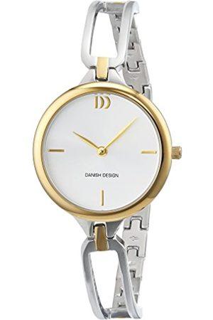 Danish Design Damen Analog Quarz Uhr mit Edelstahl Armband 3324587