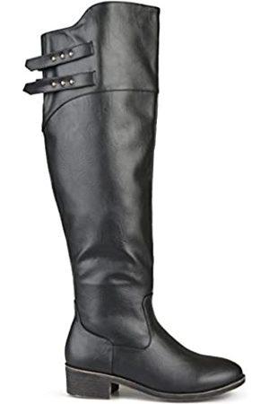 Brinley Co Damen Reitstiefel Lexi Regular & Wide Calf, ( breit)