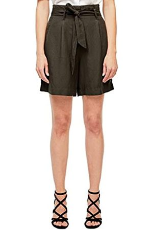 s.Oliver S.Oliver BLACK LABEL Damen Regular Fit: Paperbag-Bermuda 46