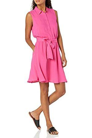 Amazon Sleeveless Woven Shirt Dress Hemd