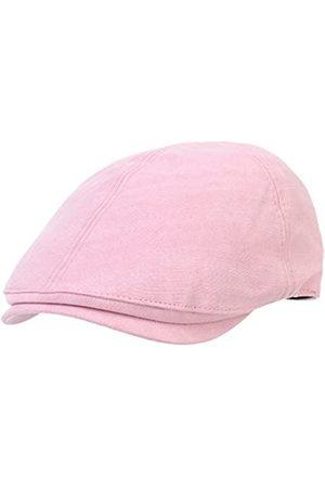 WITHMOONS Schlägermütze Golfermütze Schiebermütze Simple Newsboy Hat Flat Cap SL3026 (Pink)