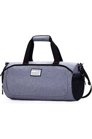 TINYAT TINYAT Sport-Sport-Sport-Gepäcktasche mit Schuhfach Duffel Taschen für Damen und Herren Flugtasche Weekender Reisetasche T308 (Grau) - 43229-59342