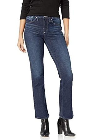 Silver Silver Jeans Co. Damen Avery Curvy Fit High Rise Slim Bootcut Jeans