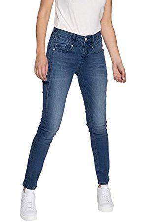 ATT ATT Jeans Damen Stretch Jeans Mit Wonder Stretch 5 Pocket Jeans Slim Fit Used Zoe