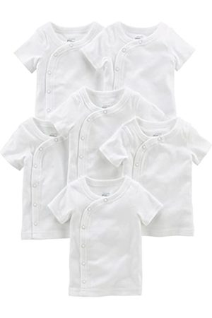 Simple Joys by Carter's Simple Joys by Carter's Baby - Jungen 6-pack Side-snap Short-sleeve Shirt