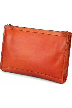 Claire Chase Claire mit Reißverschluss Folio Tasche (Beige) - 624