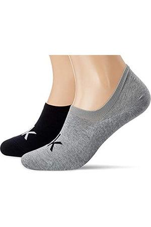 Calvin Klein Herren Liner Logo Finley Socken, Melange/