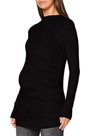 Noppies Damen Top ls Bedford T-Shirt, Black-P090