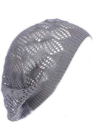 BSB Damen Mütze, leicht, ausgeschnittenes Strickmütze