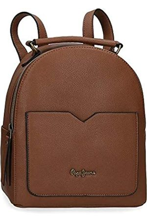 Pepe Jeans Pepe Jeans India Rucksack Handtasche 22x25x10 cms Synthetisches Leder