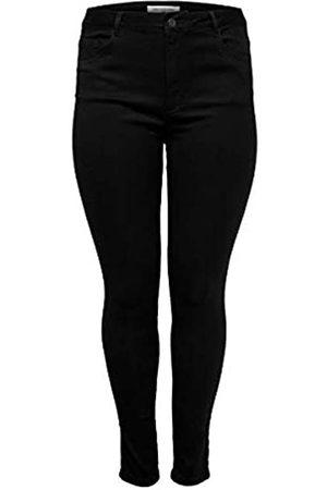 Carmakoma Female Skinny Fit Jeans Curvy Caraugusta HW 5034Black