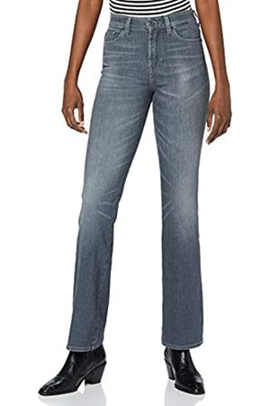 7 for all Mankind Women's Lisha Jeans, Grey
