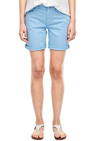 s.Oliver S.Oliver Damen Slim Fit: Coloured Denim-Shorts 46