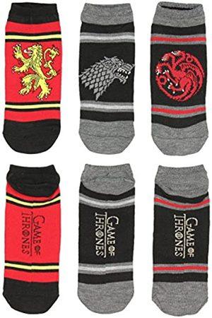 HYP Spiel der Throne Socken Great House Siegel Banner nach Knöchel 3 Paar Pack