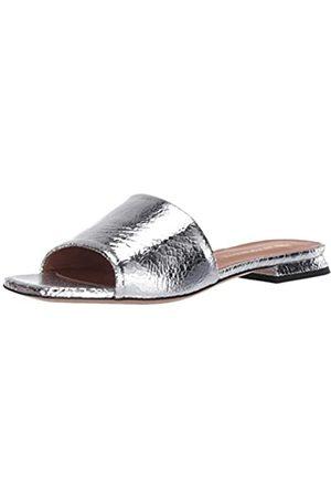 Emporio Armani Damen Open Square Toe Slide Sandalen zum Reinschlüpfen