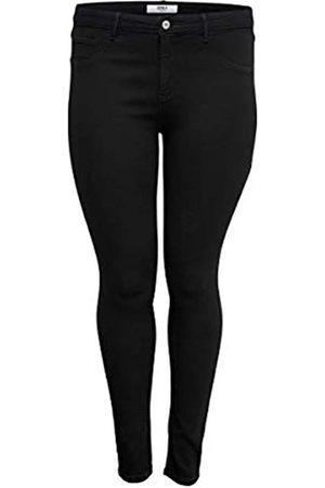Carmakoma Female Skinny Fit Jeans Curvy CARThunder Push up reg 48Black