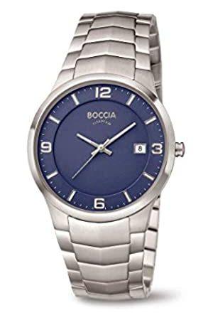 Boccia Herren Uhren - HerrenAnalogQuarzUhrmitTitanArmband3561-04