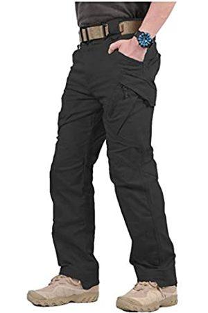 CARWORNIC Gear Herren Assault Tactical Pants Leichte Baumwolle Outdoor Military Combat Cargo Hose - - 34W / 30L